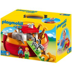 Playmobil 6765 - 1.2.3 : Arche de Noé transportable