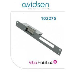 Avidsen 102275 - Gâche électrique à encastrer avec levier de déblocage