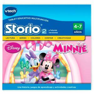 Vtech Jeu tablette Storio 2 : La Boutique de Minnie (version espagnol)