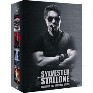 Coffret Sylvester Stallone - Cobra + Demolition Man + Get Carter + Expendables : Unité spéciale