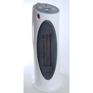 Ewt C220LCD - Chauffage céramique en colonne de salle de bain 2000 Watts