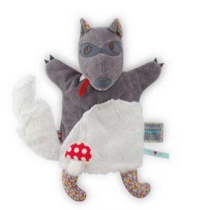 Kaloo Nopnop loup 25 cm - Doudou marionnette