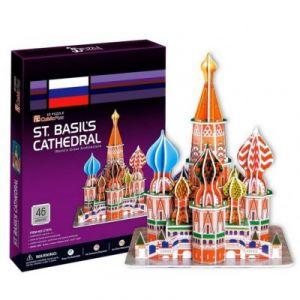 CubicFun Puzzle 3D Russie, Moscou : Cathédrale Saint-Basile-le-Bienheureux