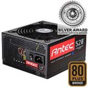 Antec High Current Gamer HCG-520- Bloc d'alimentation PC 520W certifié 80 Plus Bronze