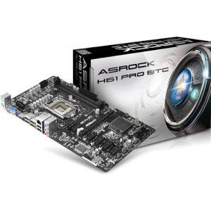 Asrock H61 Pro BTC - Carte mère Socket 1155