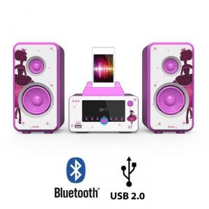 Tokai WO-243 - Micro-chaîne station d'accueil bluetooth