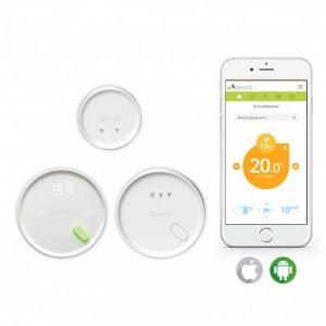 Qivivo QTW12-EW-CO-EU - Thermostat connecté compatible électrique