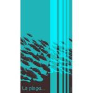 Sensei Drap de plage La Plage en velours jacquard (100 x 180 cm)