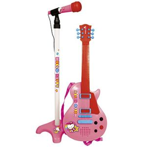 Reig Musicales 1509 - Guitare et microphone Hello Kitty