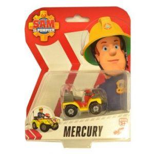 Dickie Toys Véhicule de secours Sam Le Pompier : Mercury