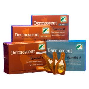 Dermoscent Essential 6 Spot-On : soin cutané multifonctionnel pour chien 0-10 Kg