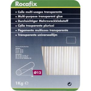 Rapid 40302799 - Colle transparente en bâtonnet 1Kg long.190mm Ø12mm