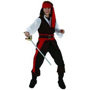 Déguisement de pirate homme (taille L)