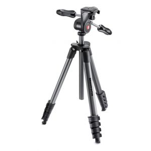 Manfrotto Trépied Compact Advanced Kit Trépied-Rotule 3D