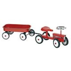 Goki 14148 - Porteur tracteur avec remorque