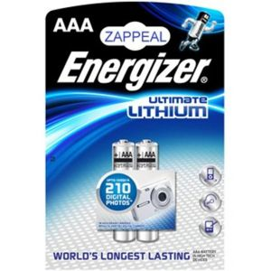 Energizer Ultimate Lithium AAA par 4