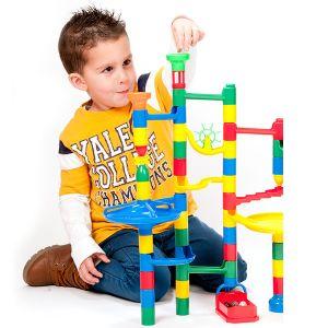 Miniland Baby Circuit de billes à construire Marbulous 38 pièces