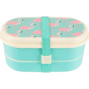 Sass & Belle Bento Lunch Box Flamand rose