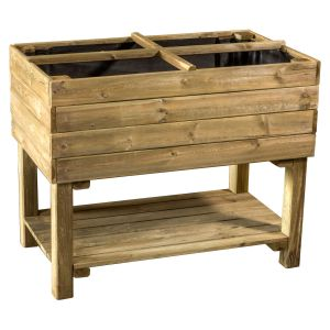 bac jardiniere sur pieds comparer 44 offres. Black Bedroom Furniture Sets. Home Design Ideas