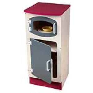 JB Bois Colonne frigo / micro-ondes en bois