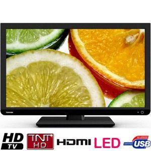Toshiba 24D1433DG - Combi Téléviseur LED 61 cm avec lecteur DVD