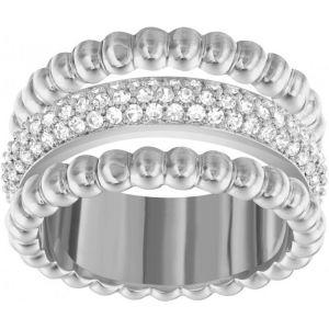 Swarovski Click - Bague argenté avec cristaux pour femme
