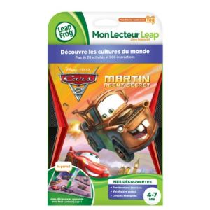 Leapfrog Livre Tag : Martin Agent Secret Cars 2