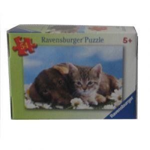 Ravensburger Comme chiens et chats - Puzzle 54 pièces