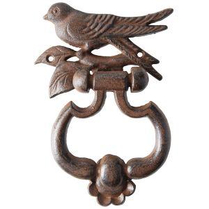 Esschert design BR15 - Heurtoir de porte Oiseaux en fonte