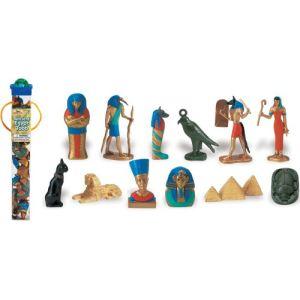Plastoy Tubo de figurines Egypte ancienne
