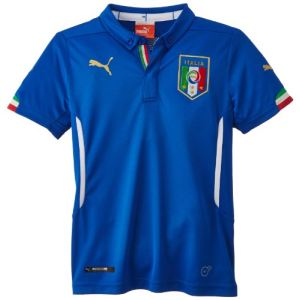 Puma 744294 - Maillot de foot à domicile Italie Coupe du Monde 2014 junior