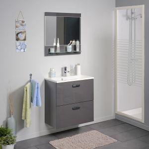 Miroir salle de bain conforama comparer 57 offres - Meuble vasque conforama ...