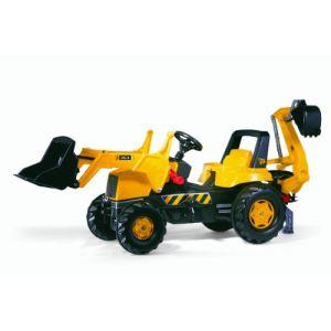 Rolly Toys Tractopelle à pédales JCB