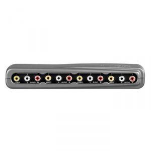 Wentronic 60926 - Commutateur audio/vidéo 4 entrées/1 sortie