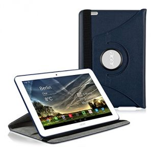 Kwmobile Housse en cuir 360° premium pour Acer Iconia Tab 10 (A3-A20)