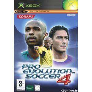 PES 4 : Pro Evolution Soccer 4 sur XBOX