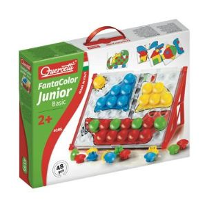 Quercetti Jeu de mosaïques - Fantacolor Junior Basic