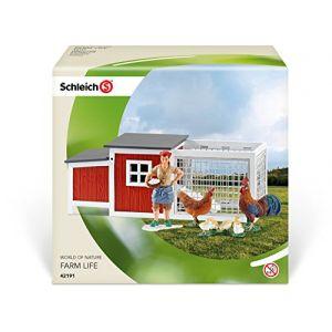 Schleich 42191 - Poulailler pour figurine