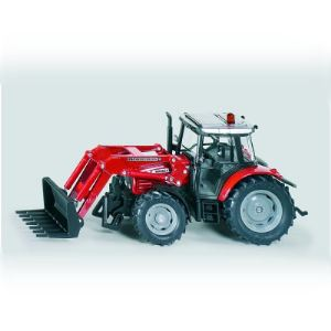 Siku 3653 - Tracteur John Deere avec chargeur frontal - Echelle 1:32