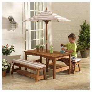 KidKraft Table pique-nique avec parasol
