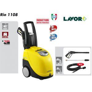 Lavor RIO 1108 - Nettoyeur haute pression eau chaude 145 Bars 450L/h