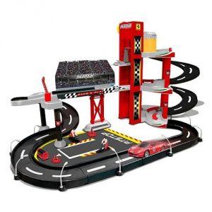 Bburago 2043178 - Garage Ferrari 3 niveaux + voiture