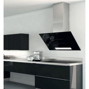 roblin vizio 3 verre 900 murale 6042205 hotte avec moteur vacuation ext rieure et. Black Bedroom Furniture Sets. Home Design Ideas
