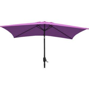 City green Cuba - Demi-parasol de balcon rectangulaire (230 x 130 cm)