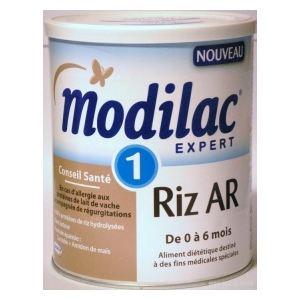 Modilac Expert Riz Anti-régurgitations 1er âge 800 g - de 0 à 6 mois