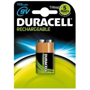 Duracell Rechargeable - Accus 9V Nimh HR22