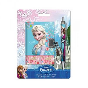 Set carnet intime et stylo Elsa La Reine des Neiges