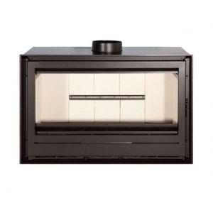 Ferlux 900 - Insert de cheminée haut rendement en acier 14,4 kw