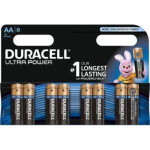 Duracell 8 Piles Ultra Power AA