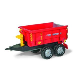 Rolly Toys Remorque à container déposable pour tracteur à pédales